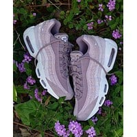 Nike Air Max 95 PRM Purple Smoke Retro Running Shoes 807443-502