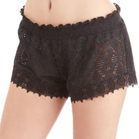 Jessica Simpson Swim Summer Staycation Cover-Up Shorts