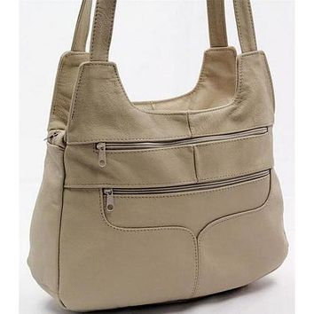 Mexican Leather Hobo Leather Bag