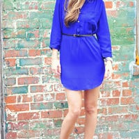 Our Favorite Fall Tunic: Royal Blue | Hope's