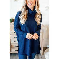 Coming Home To Stay Tunic (Navy) FINAL SALE