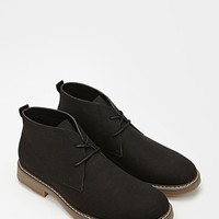 Canvas Lace-Up Chukkas