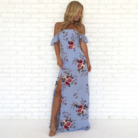 Riches to Roses Floral Maxi Dress