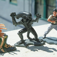 Miniature Aliens Action Figures by Action Masters Kenner