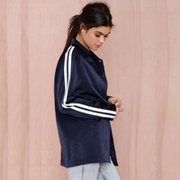 Navy with White Stripe Sports Jacket