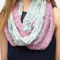 Urban Outfitters - Kimchi Blue Mixed Media Eternity Scarf