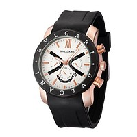 Bvlgari Ladies Men Fashion Quartz Watches Wrist Watch