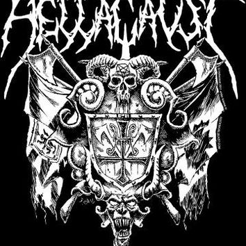 Hellacaust Back Patch - Coat Of Arms