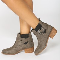 Wild West Bootie - Taupe