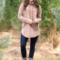 Conquer The Day Tunic in Mocha | Monday Dress Boutique