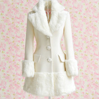 Fashion pure color long-sleeved coat FD1213BE