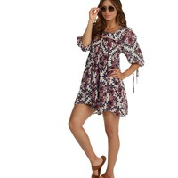 Navy Over The Moon Tunic