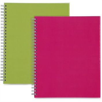 Sparco Twin-wire Professional-style Notebook - 80 Page - Ruled - 2 / Pack Multi-colored Cover (spr-17710) - Walmart.com