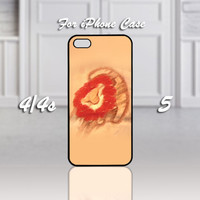 Simba Lion King, Design For iPhone 4/4s Case or iPhone 5 Case - Black or White (Option)
