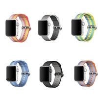 YIFALIAN Series 2/1 Woven Nylon Sports Strap Band for Apple Watch Sport Edition 38mm 42mm Case