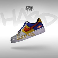 red bull  - air force one custom