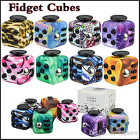 Decompression Toy Fidget cube fidget spinner camoflause cube the world's first American decompression anxiety Toys In stock