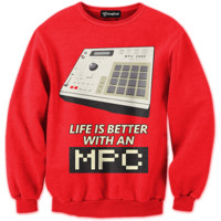 Better with an MPC Crewneck
