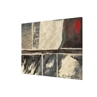 Textured Marble Stretched Canvas Prints | Zazzle