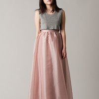 Adeline Blush Maxi – Lucca Couture