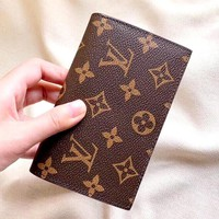 LV Tide brand classic old flower female coin purse card holder