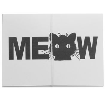 meow note cards