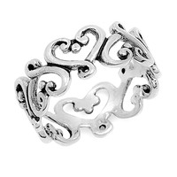 Young Hearts Stackable Ring
