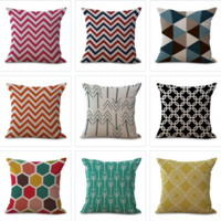 Abstract Geometry Decorator Pillow Covers