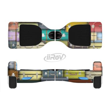 The Multicolored Traveling Suitcases Full Body Skin Set for the Smart Drifting SuperCharged Transportation iiRov