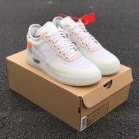 AUGUAU The 10: Nike Air Force 1 Low Off White