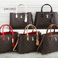 LV New Fashion Leather Shoulder Bag Messenger Bag Handbag