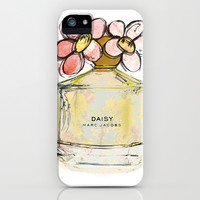 Daisy - Marc Jacob's Perfume Illustrated iPhone & iPod Case by Amy frances Illustration