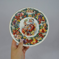 Vintage Royal Doulton 1992 Plate Christmas Wishes Designed By Neil Faulkner