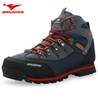 BAIDENG Brand Mountain Climbing Mens Shoes Boots Athletic Shoes Botas Men Trekking Outdoor Sport Hiking Shoes Boot