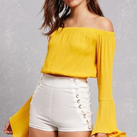 Off-the-Shoulder Bell Top