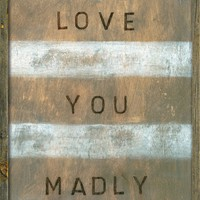 "36"" x 48"" Love You Madly Art Print by Sugarboo Designs"