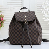 LV Louis Vuitton Hot Selling Rope Backpack Fashion Lady Shoulder Bag Luggage Bag