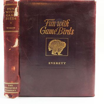 Fun with Game Birds: Bird Hunting in Words, Paint & Lines Book