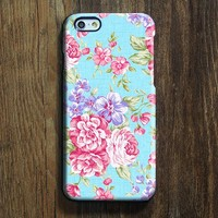 Elegant Blue Pink Floral iPhone XR Case Galaxy S8 Case iPhone XS Max Cover iPhone 8 SE  4 Samsung Galaxy S8   Galaxy Note case 142