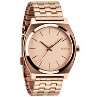 Nixon The Time Teller Watch All Rose Gold One Size For Men 21256538101
