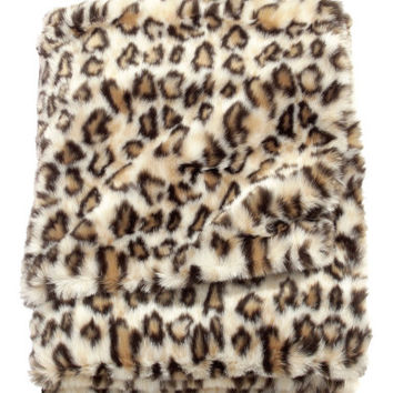 Faux Fur Blanket - from H&M