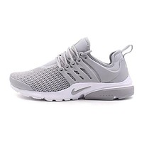 NIKE Air Presto Popular Woman Men Casual Running Sport Sneakers Shoes Grey I/A