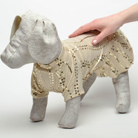 Dress handmade for dog coats wear sweaters apparel outfits knitted style pet