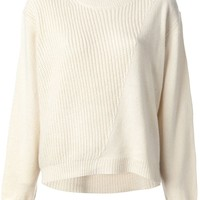 3.1 Phillip Lim ribbed knit sweater
