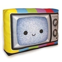 Mini Pillow Happy Color TV by mymimi on Etsy
