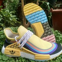 Sean Wotherspoon x Adidas Human Race NMD TR HU SW Sport Running Shoes - Sale