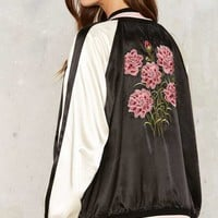 Rhythm Carnation Bomber Jacket