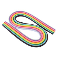 160 Stripes Quilling Paper 3mm Width Assorted Color Origami Paper Craft DIY