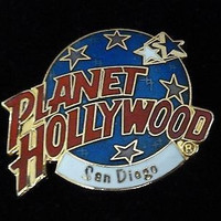 Planet Hollywood San Diego California Pin