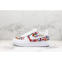 2018 FIFA World Cup Nike AIR FORCE 1 AF1 Low National Flag Sport Shoes Sneakers